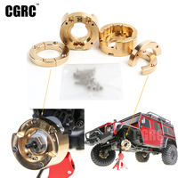 Brass Axle Heavy Weight Competitive 122g Axle Steering Gear Cover For 1:10 Traxxas Trx4 Trx 4 Rc Climbing Car Upgrade Parts