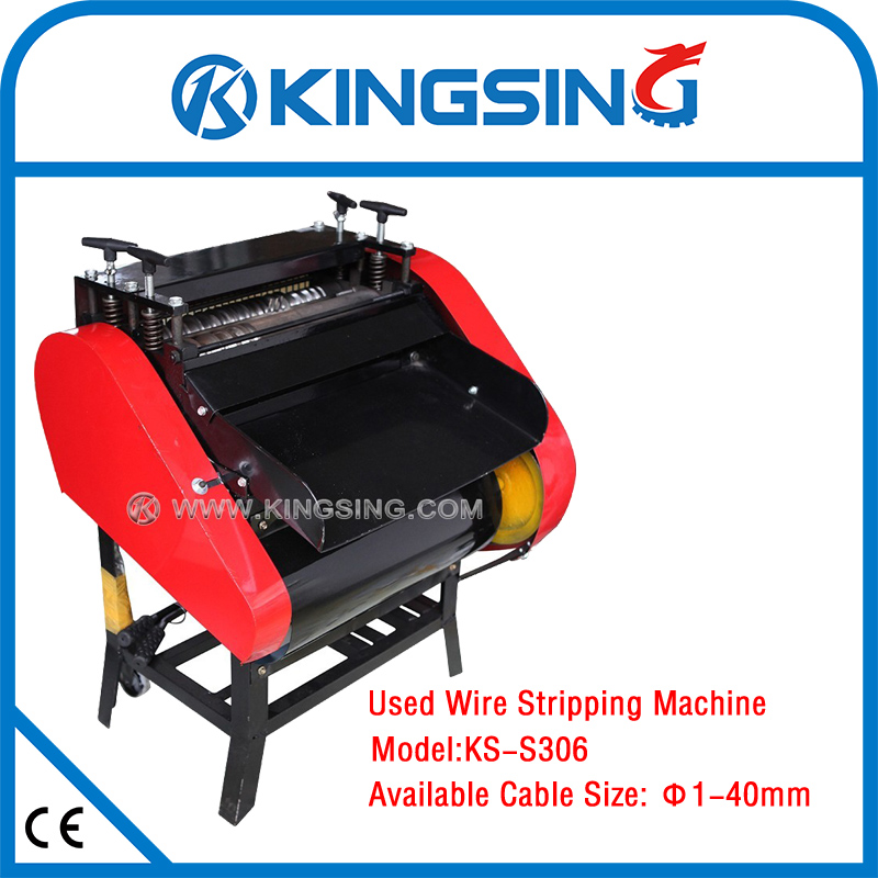 us $1972 0 waste used scrap wire stripping machine ks 306 free shipping by dhl (door to door service) in wiring harness from home improvement on Wiring Harness Kit