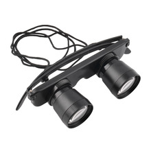 3×28 Magnifier Glasses Style Outdoor Fishing Optics Binoculars Telescope free shipping