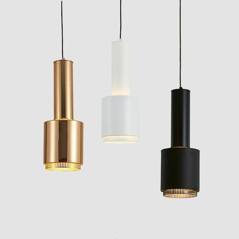 Nordic Post Modern Living Room Home Deco LED Pendant Lights Simple Bedroom Restaurant Study Pendant Lamp Fixture Free Shipping modern restaurant pendant lights living room study led aluminum tube pendant lamp bedroom light simple european glass rod lamp