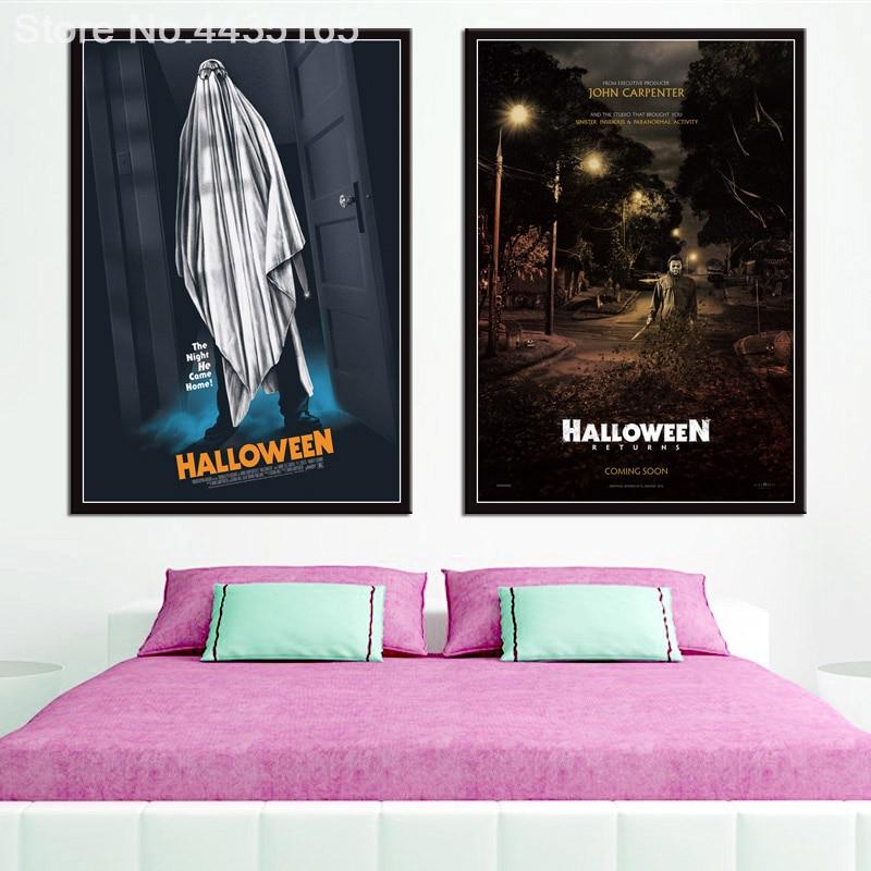 Movie Wall Art ART PRINT Michael Myers illustration Gift Halloween Horror