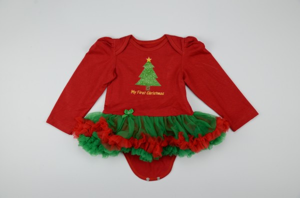 Strampler Weihnachten HIBISCUSARA Vestidos 14
