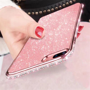 Glitter Rhinestone Soft Case For Xiaomi Mi 9T 9 8 SE A2 Lite Play Redmi K20 7A 6A 6 5 Plus Note 7 Note 5 Pro Note 4X 4 TPU Cover(China)