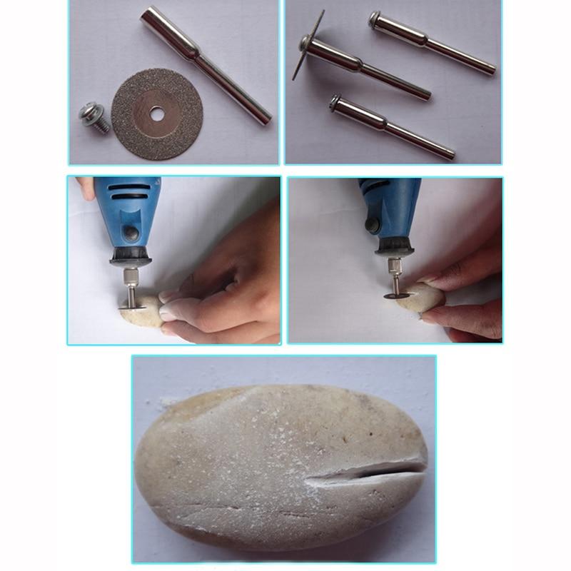10 sztuk 30 mm mini tarcza tnąca do akcesoriów dremel ściernica - Narzędzia ścierne - Zdjęcie 5