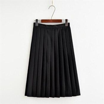 Японская юбка в студенческом стиле