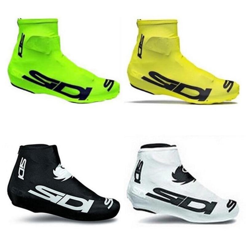 MTB Unisex bisiklet bisiklet galoş Lycra toz geçirmez ayakkabı kapak MTB bisiklet CyclingShoes kapak spor aksesuarları Pro yol yarış title=
