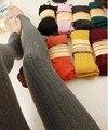 13 colors New Leggings For Women Casual Warm Winter Stirrup Legging Line Stripe Knitted Thick Slim Leggings Super Elastic