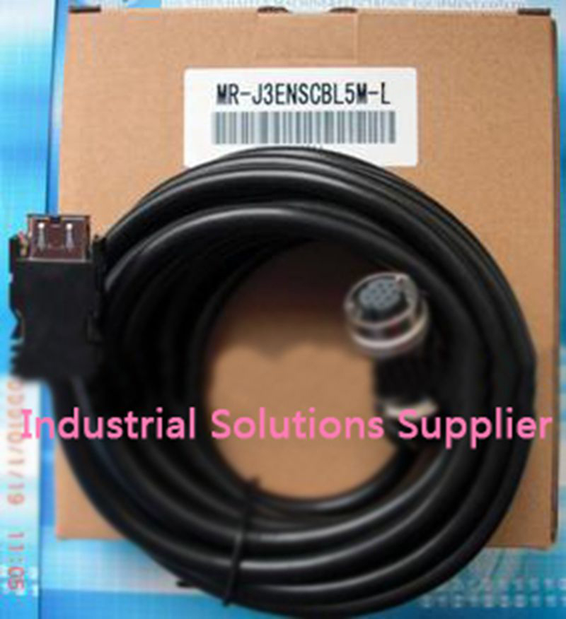 New Servo MR-J3 ES encoder cable MR-J3ENSCBL5M-L can deserve to complete  цепная электропила ryobi rcs1935 3002184