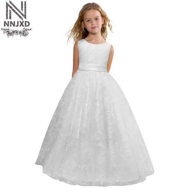5a402c75464 Flower Little Baby girl Wedding Birthday Dresse Girl Infant Party Dress  Kids Dresses For Girls Clothes Children Graduation Gown