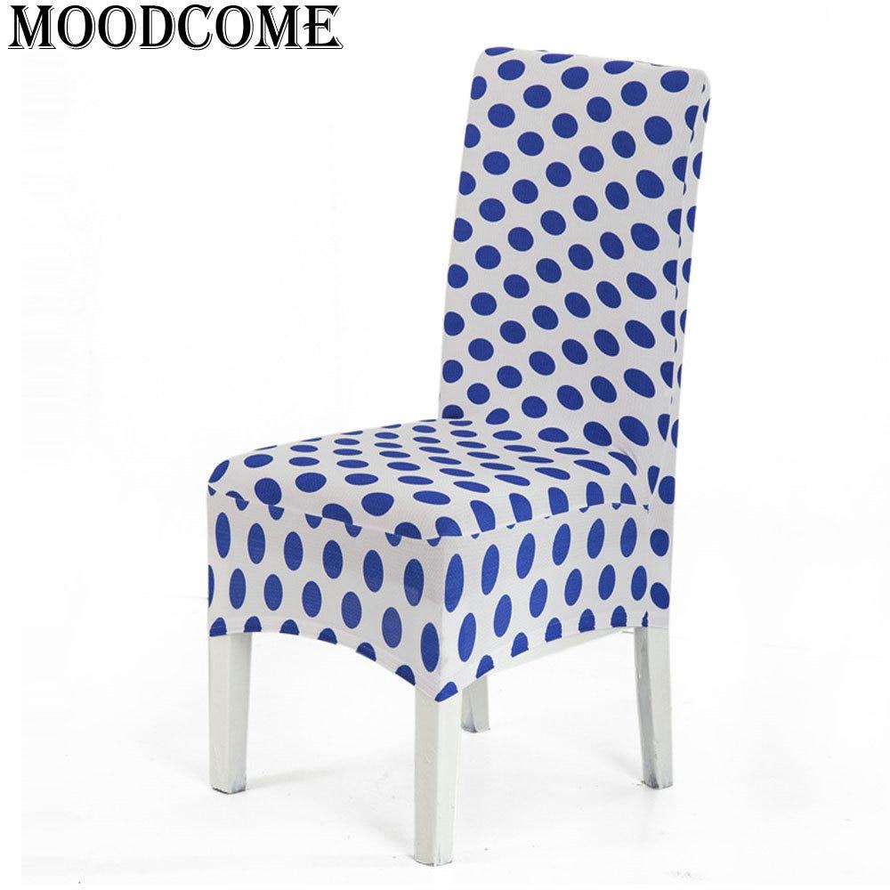 ᗛComedor silla cubierta housse de chaise extensible funda silla ...