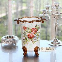 Verzending Europese stijl van de oude keramische bloem tuin decoratie kamer Woninginrichting va