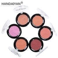 HANDAIYAN 6 цветов матовые румяна набор румяна хайлайтер телесный макияж ремонт Пудра Косметика для лица набор