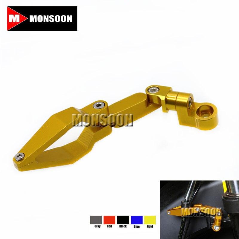 Универсальный продукт для BMW S1000RR S1000R K1300R/с K1200RR/С Р девять Т мотоцикл аксессуары CNC Алюминиевый тормозной зажим золото