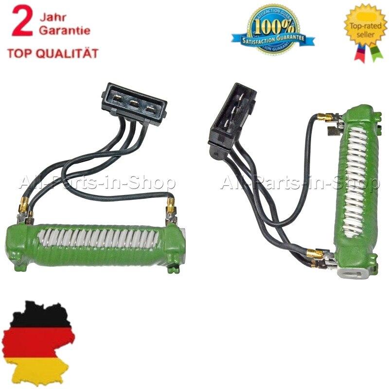2 Pcs Engine Cooling Fan Resistors For Seat Alhambra/VW Sharan Transporter 4/Volkswagen EuroVan 701959263B 701959263D цена