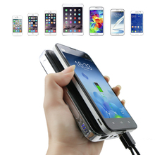 Dual USB Ports Output Slim 10000mAh Portable Fast Charge Ports Power Bank for Samsung Galaxy S8 Plus