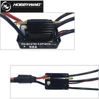1Pcs Original Hobbywing RC Model SEAKING 90A V3 RTR RC Hobby Brushless Motor ESC For RC