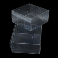DHL Clear Plastic PVC Soap Packaging Boxes Transparent Christmas Candy DIY Gift Boxes For Jewelry Candy