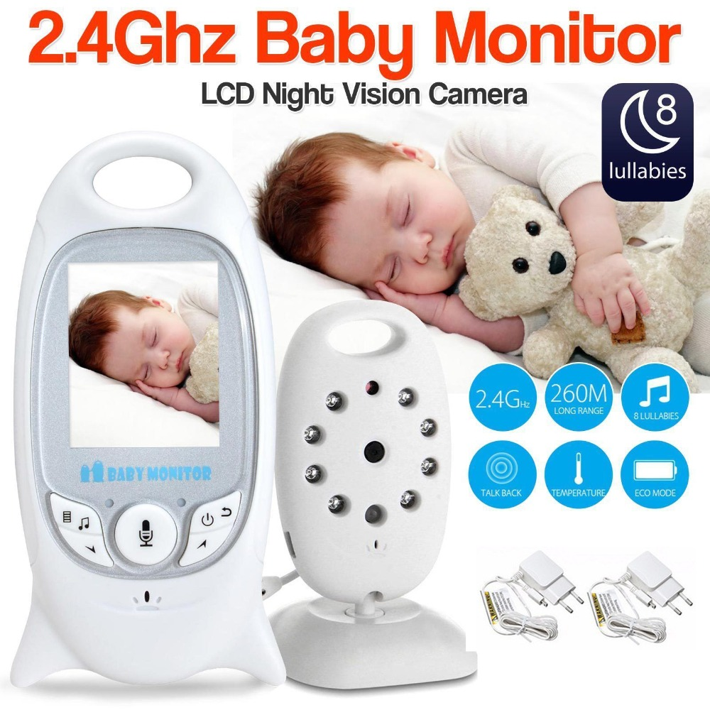 2.4G Baby Sleeping Monitor Wireless Electronic Nanny Camera Kid Monitor Night Vision Two-way Talk LCD Home Security Surveillance2.4G Baby Sleeping Monitor Wireless Electronic Nanny Camera Kid Monitor Night Vision Two-way Talk LCD Home Security Surveillance