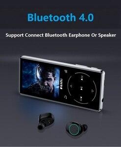 Image 2 - 新金属オリジナル RUIZU D16 Bluetooth MP3 プレーヤー 2.4 インチ 8 ギガバイトハイファイ音楽ビデオプレーヤー FM ラジオ電子書籍内蔵スピーカー