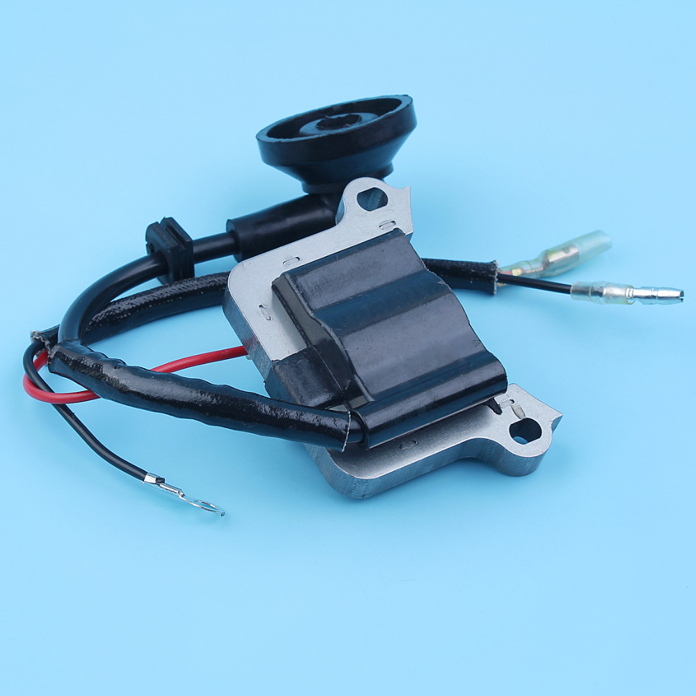 Trimmer Brushcutter Ignition Coil Module For Chinese 40-5 43cc 44-5 49cc 52CC CG430 CG520 2-Stroke Pocket Bike More Engines