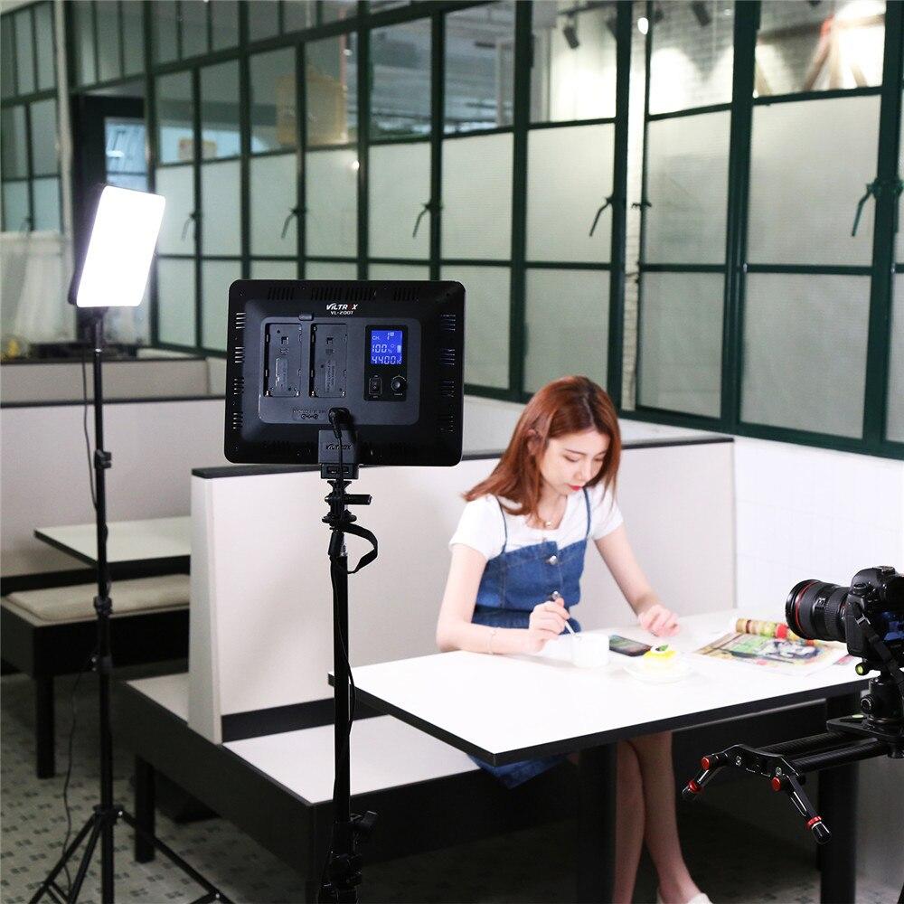 Photo Studio ensemble 2x Viltrox VL-200T Sans Fil À Distance Bi-couleur LED Studio vidéo Lumière Lampe + 2x Lumière Stand pour DSLR Caméra En Direct