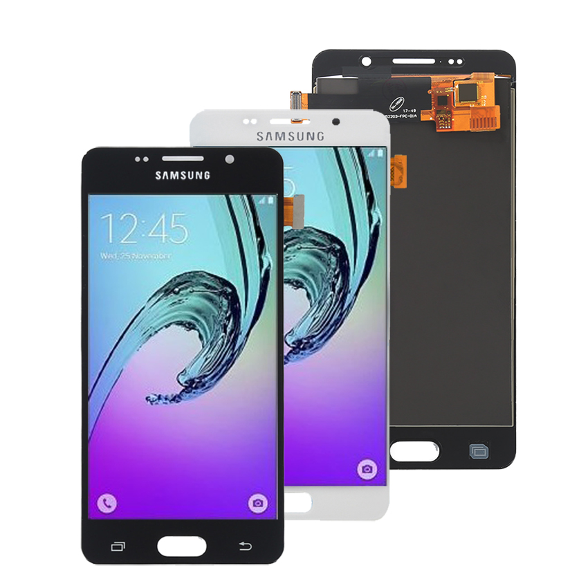 Image 3 - AMOLED For SAMSUNG Galaxy A5 2016 A510 LCD Display Touch Screen Phone Parts For Samsung A510 Screen LCD Replacement-in Mobile Phone LCD Screens from Cellphones & Telecommunications