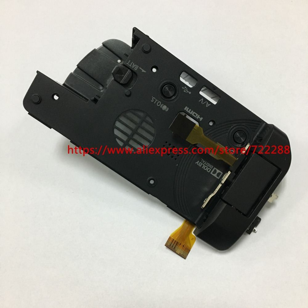 Repair Part For Panasonic HC X920 Side Case shell Unit With Battery Snaps And LCD Screen