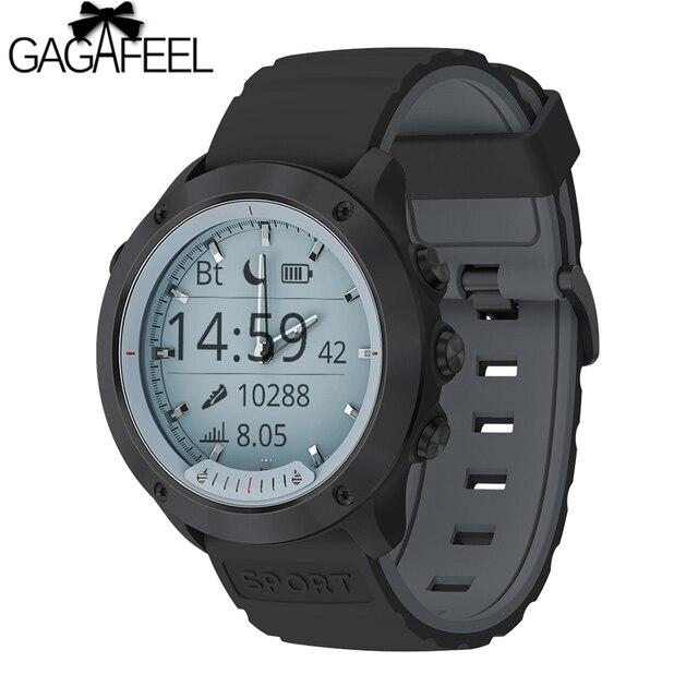 M5 Smart watch Transparent Screen IP68 Waterproof Luminous hands Heart Rate Moni