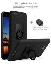 Для Huawei P10 случай, iMak Ковбой Матовый Телефон Случаях Для Huawei P10 Чехол + iMak Защитная Пленка + Кольцо Держателя