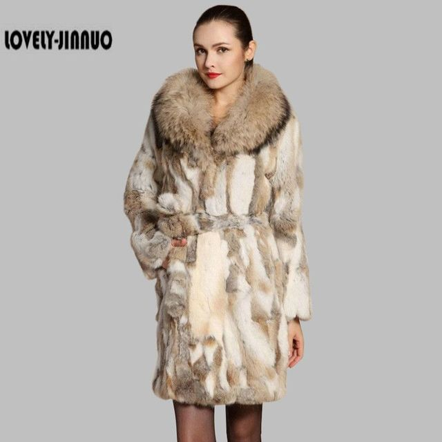 Trendy Hot Selling Real Fur Coat Women Pieces Of Natural Rabbit ...