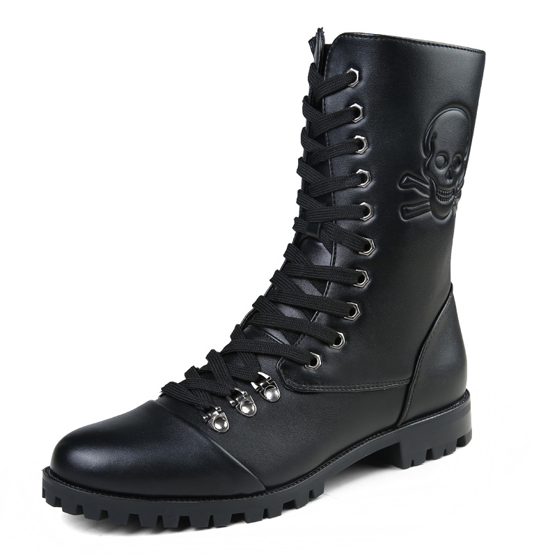 Leather Combat Boots Promotion-Shop for Promotional Leather Combat ...