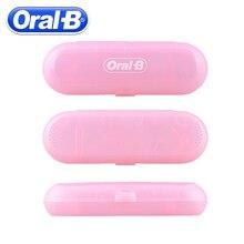 Oral B caja de viaje para cepillo de dientes eléctrico, caja de almacenamiento con cubierta protectora para cepillo de dientes eléctrico portátil (solo caja de viaje)