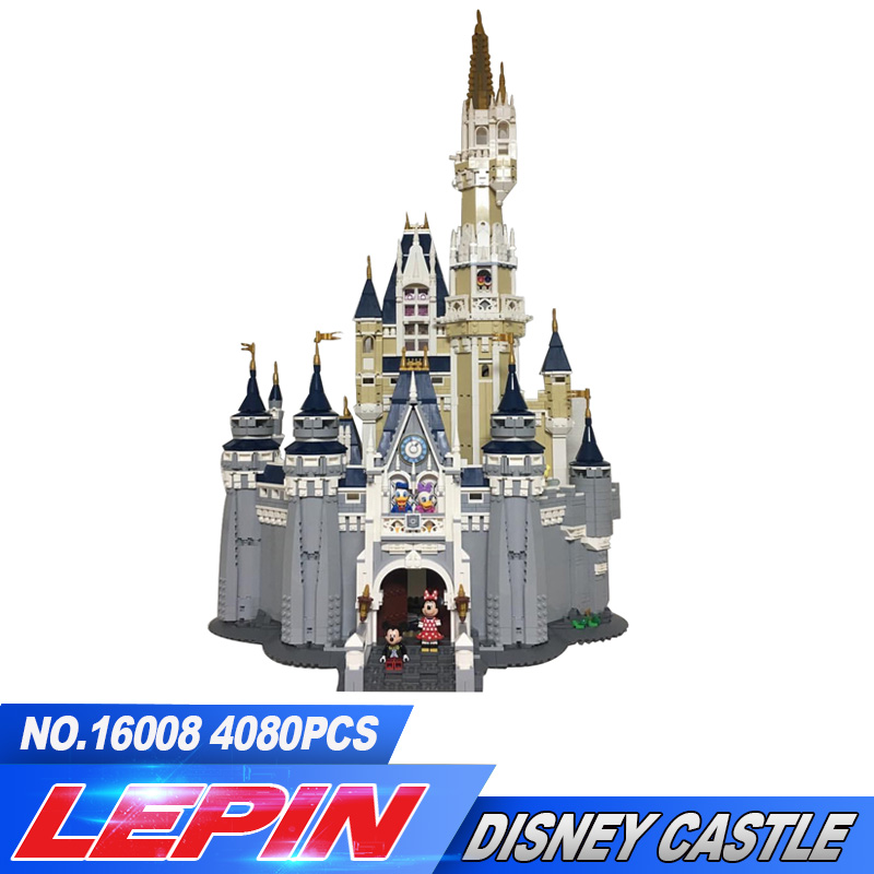NEW LEPIN 16008 Creator Cinderella Princess Castle City Model Building Block Kid Toys Gift Compatible 71040 lepin 02012 city deepwater exploration vessel 60095 building blocks policeman toys children compatible with lego gift kid sets