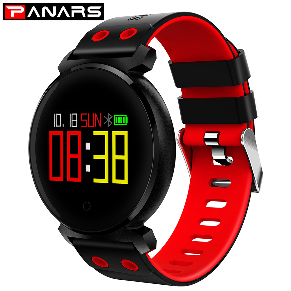 PANARS Sport Smart Bracelet Watch blood pressure heart rate sleep monitor blood oxygen pedometer Waterproof Clock for IOS Androd gimto sport smart bracelet watch outdoor clock waterproof stopwatch heart rate monitor blood pressure pedometer for ios android