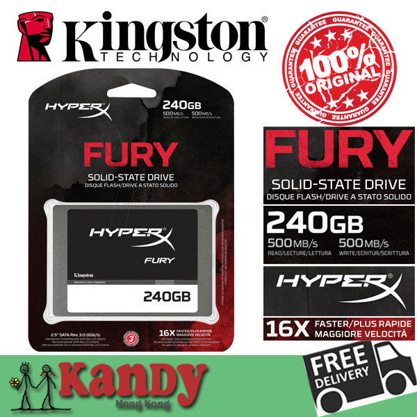Furia kingston hyperx ssd 256 gb-240 gb sata disco duro externo disco de estado sólido de unidad de disco duro externo portátil ordenador portátil lot