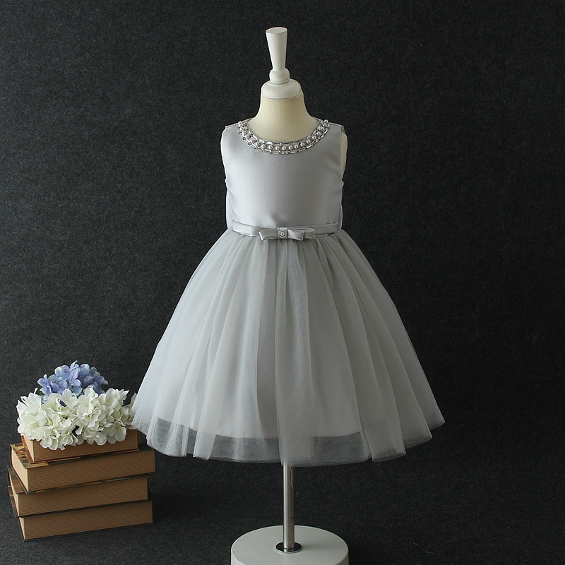 6348 Princess Party Wedding Girls Dress Tulle Tutu Costume Night Gown Kids Dresses For Girls Wholesale Baby Girl Clothes 6P Lot new flowers girl tutu dress birthday party princess dress baby girls pink ball gown for kids wedding bridesmaid tulle dresses