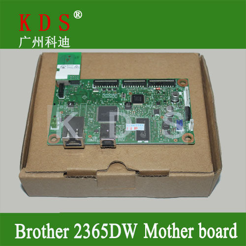 ФОТО Original mother board for brother HL2365DW formatter board for brother laser printer parts LV1286001 remove from new machine