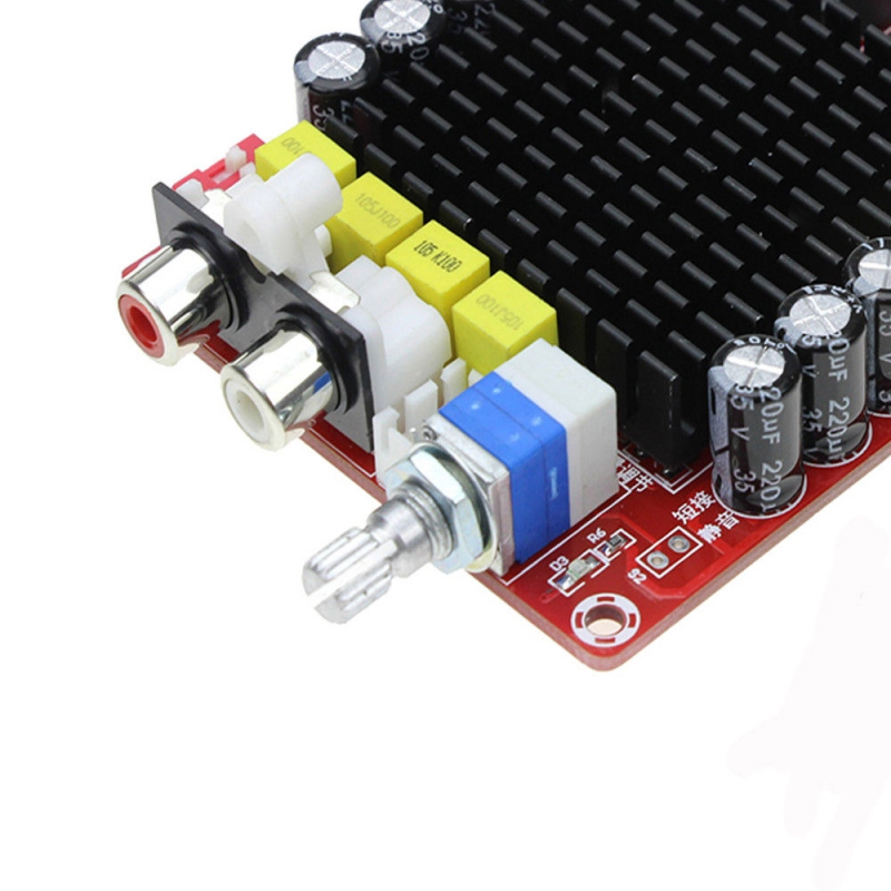 TDA7498 цифровой усилитель мощности 100 Вт + 100 Вт двухканальный стерео аудио усилитель класса D для динамика DC 15-34 в E4-001