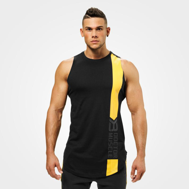 2019 New Men Bodybuilding Gyms   Tank     Top   Muscle Stringer Athletic Fittness Shirt Clothes Men Cotton Hot   Top   Clothing Summer