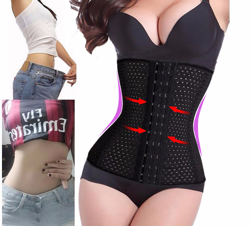 Corset Sexy Bodysuit Shapewear Waist-Trainer Slimming Postpartum Women Tummy with