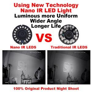 Image 2 - Smar AHD 4MP Camera An Ninh Trong Nhà Full Nhìn HD Dome 18Pcs Nano IR Led,3.6nn Ống Kính, IR Cut Năm 1/3 Inch Cảm Biến CMOS