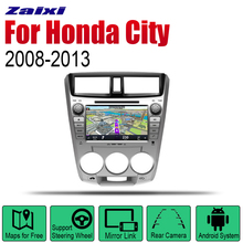 Android 2 Din Auto Radio DVD For Honda City 2008~2013 Car Multimedia Player GPS Navigation System Stereo
