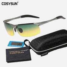 With Case Brand Luxury Aluminum Magnesium Alloy Polarized Sunglasses Men Sport Glasses HD Polarized Driving Gafas Oculos C8177C