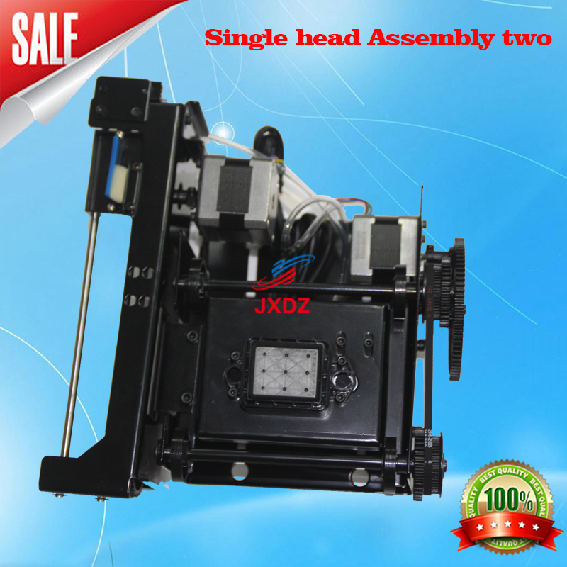 single head assembly two water based inkjet printer capping station assembly for 5113 print head