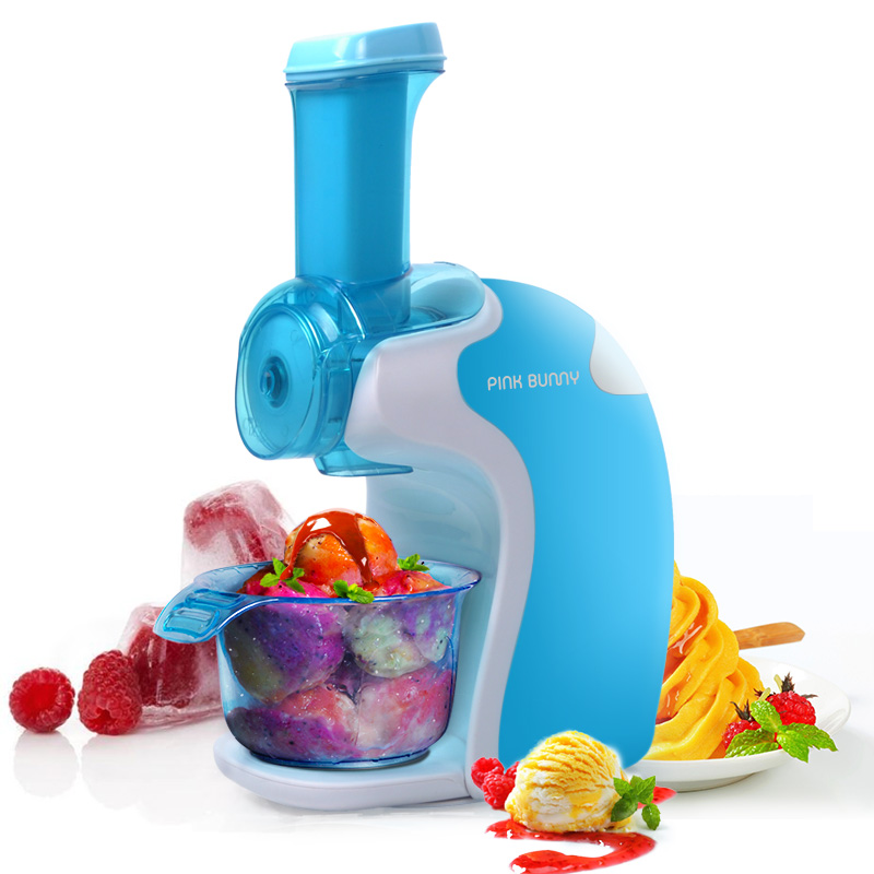 Fruit Ice Cream Machine Children Home Automatic DIY Mini Mini Ice Cream Machine Ice Cream Machine fully automatic diy fruit ice cream machine silver black