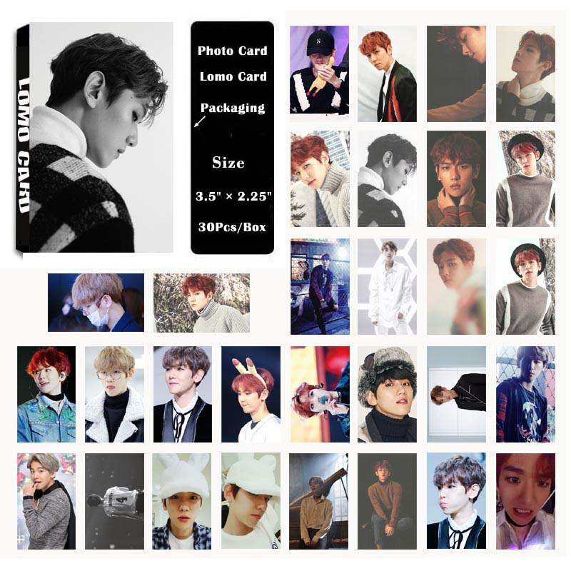 Jewelry & Accessories Yanzixg Kpop Exo Album Baekhyun For Life Self Made Paper Lomo Card Photo Card Poster Hd Photocard Fans Gift Collection Elegant Appearance