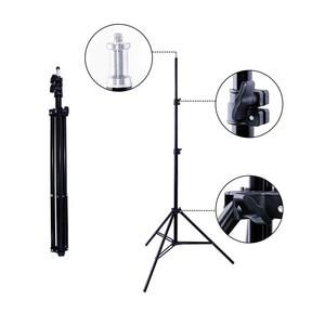 Image 4 - Viltrox L132T ثنائي اللون عكس الضوء LED الفيديو الضوئي x2 + 2x ضوء حامل + 2x محول التيار المتناوب ل DSLR كاميرا استوديو LED طقم الإضاءة
