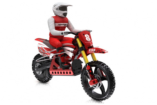SKYRC SR4 1/4 Scale Super Rider RC Bike Car SK-700001 Red color