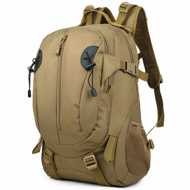 Обычный тактический рюкзак армия Mochila 50L Водонепроницаемый Пеший Туризм охотничий рюкзак туристический рюкзак Спортивная Сумка BD060