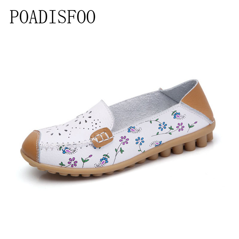 Leather 2017 summer new printing flat shoes Uppers hollow breathable casual shoes.CQY-3599 статуэтки и фигурки lefard фигурка кошки 12 см